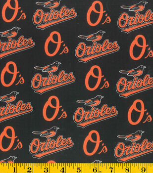 Baltimore Orioles MLB Cotton Fabric