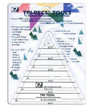 Wrights®/EZ Tri-Recs Tools-Quilt Ruler