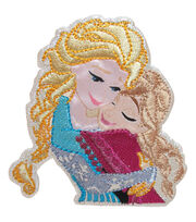 Wrights Disney Sisters Frozen Iron-On Applique, , hi-res
