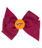 Virginia Tech NCAA Hair Barrette, , hi-res