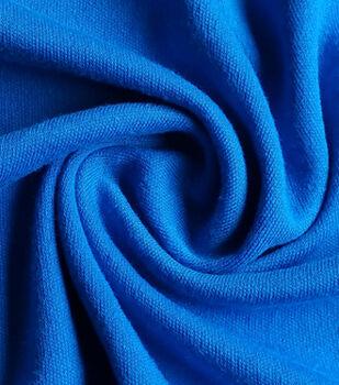 Doodles Juvenile Apparel Fabric-Blue Interlock