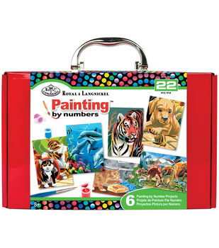 Royal Brush® 6''x9.75''x3'' Painting By Numbers Kit