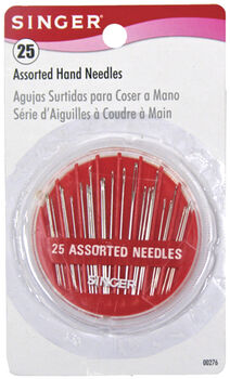 Hand Needles In Compact-25 Assorted