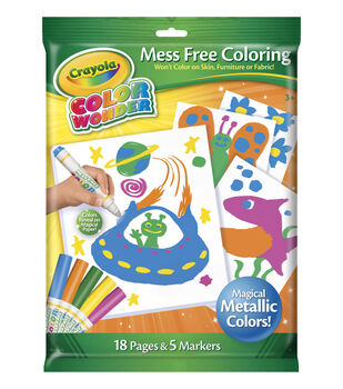 Crayola® Color Wonder Metallic Paper and Market Set
