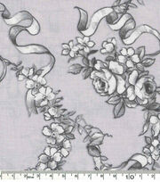 Keepsake Calico™ Cotton Fabric-Pretty Birds On Gray, , hi-res