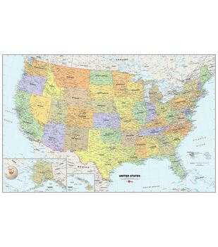 WallPops USA Map