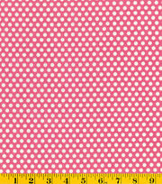 Made in America Cotton Fabric-Polka Dots Pink, , hi-res