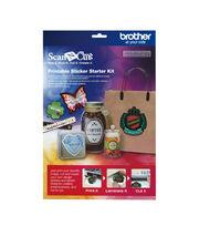 Brother ScanNCut Printable Sticker Starter Kit, , hi-res