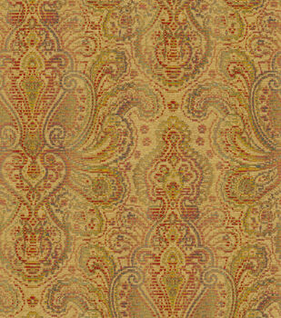 Home Decor Print Fabric-Waverly Beauclaire Wheat