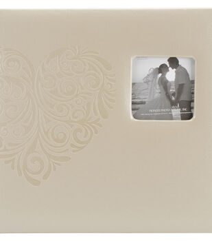 Pioneer Embossed Wedding Album: Tree