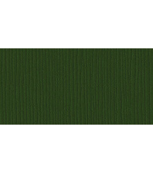 "Bazzill Cardstock 12""X12""-Avocado/Grass Cloth"