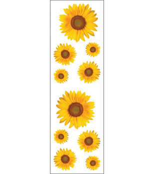 Mrs. Grossman's Stickers-Sunflowers