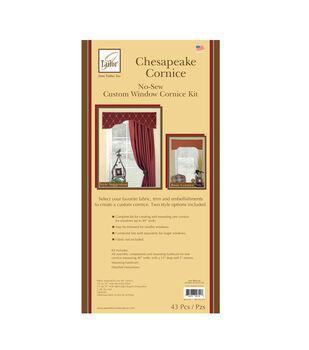 June Tailor No Sew Chesapeake Curve Cornice Kit