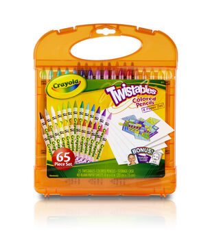 Crayola® Twistable Colored Pencil Kit