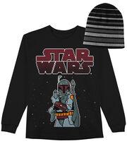 Star Wars Boba Pixel Long Sleeved Shirt with Hat, , hi-res