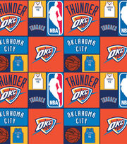 Oklahoma City Thunder NBA  Cotton Fabric, , hi-res