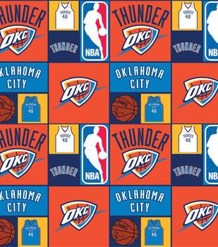 Oklahoma City Thunder NBA  Cotton Fabric
