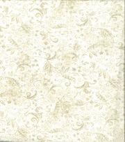 Keepsake Calico Cotton Fabric-Tonal Vine Cream, , hi-res