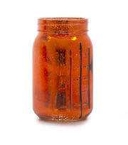 Fab Lab™ Quart Mason Jar-Red Mercury Coating, , hi-res
