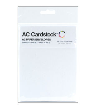 "Envelopes A2 (4.375""X5.75"") 12/Pkg-White"