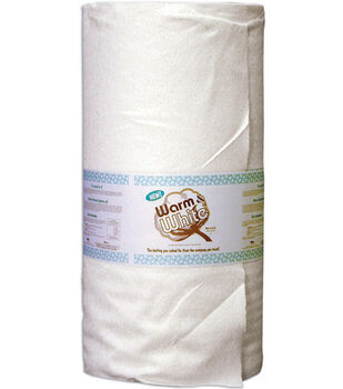 "The Warm Company Warm And White Cotton Batting 90""x40yds"