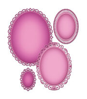 Spellbinders-Nestabilities Decorative Elements Die - Elegant Ovals, , hi-res