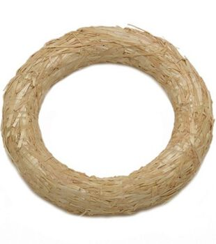 Floracraft Straw Wreath 14""