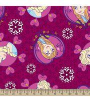 Disney Frozen Sisters Toss Fleece Fabric, , hi-res