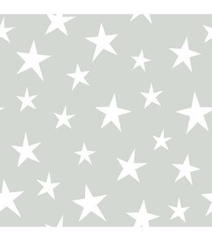 WallPops® NuWallpaper™ Grey Stardust Peel  & Stick Wallpaper