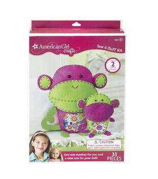 American Girl Crafts Monkeys Sew & Stuff Kit