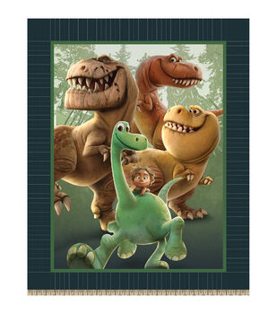 Giftable No Sew Throw-The Good Dinosaur Spot And Dinosaur Friends