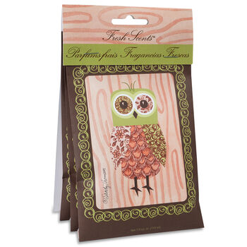 Hudson 43™ Candle&Light Collection 3 Pack Scented Sachet Pink Owl