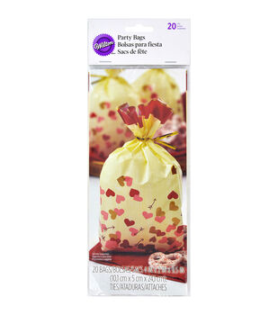 """Wilton® Treat Bags 4""""X9.5"""" 20/Pkg-Comfort And Connect"""