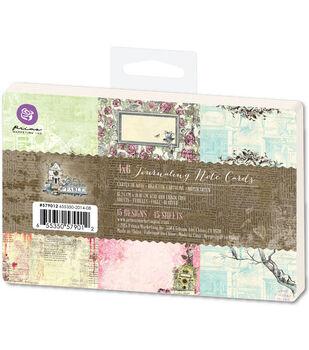Prima Marketing Garden Fable 4''x6'' Journaling Notecards
