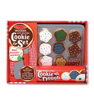 Melissa & Doug Wooden Food Set-Slice & Bake Cookies