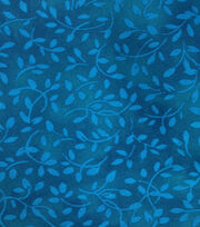 Keepsake Calico™ Cotton Fabric-Blue Green Scrolling Vines , , hi-res