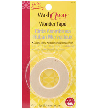 "Dritz Quilting Washaway Wonder Tape-1/4""W x 10yds"