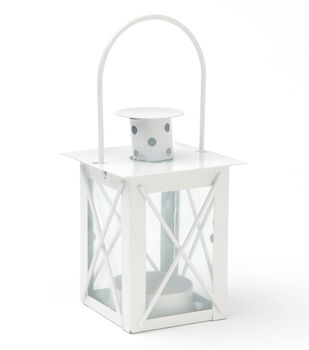 White Lantern Favor