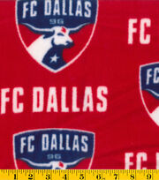 FC Dallas MLS Fleece Fabric, , hi-res