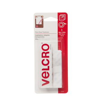 "VELCRO® Brand Thin Clear 18""x 3/4"" Tape"