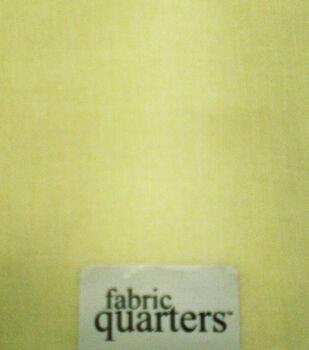 Quarters Cotton Fabric-Solids Ivory