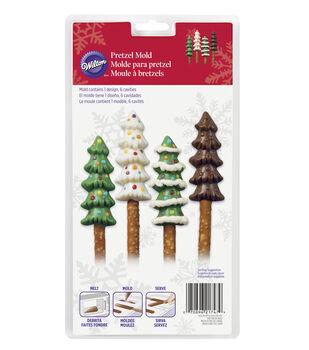 Wilton® Candy Mold-6 Cavity Christmas Tree