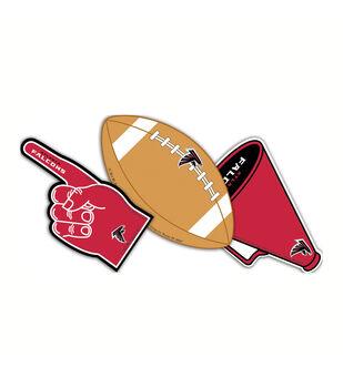 NFL Atlanta Falcons Assorted Paper Cut Outs