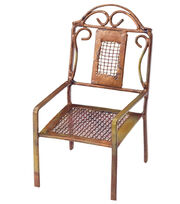 Fairy Garden Copper Mesh Chair, , hi-res