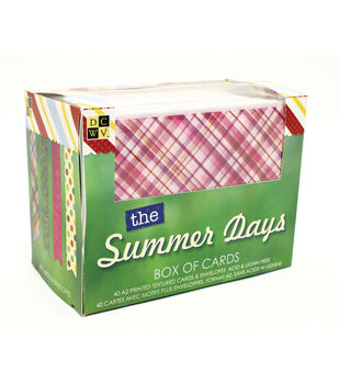 DCWV Summer Days Box of Cards