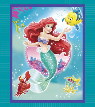 Giftable No Sew Throw-Disney® Little Mermaid