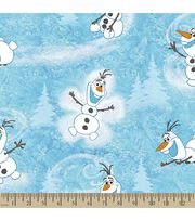 Disney® Frozen Print Fabric-Olaf's Winter, , hi-res