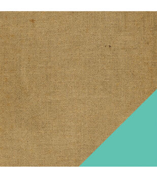American Crafts Travel Burlap Double-Sided Cardstock