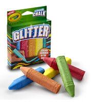 Crayola Glitter Sidewalk Chalk 5ct, , hi-res