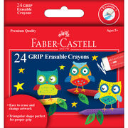 Faber-Castell GRIP Erasable Crayons, , hi-res